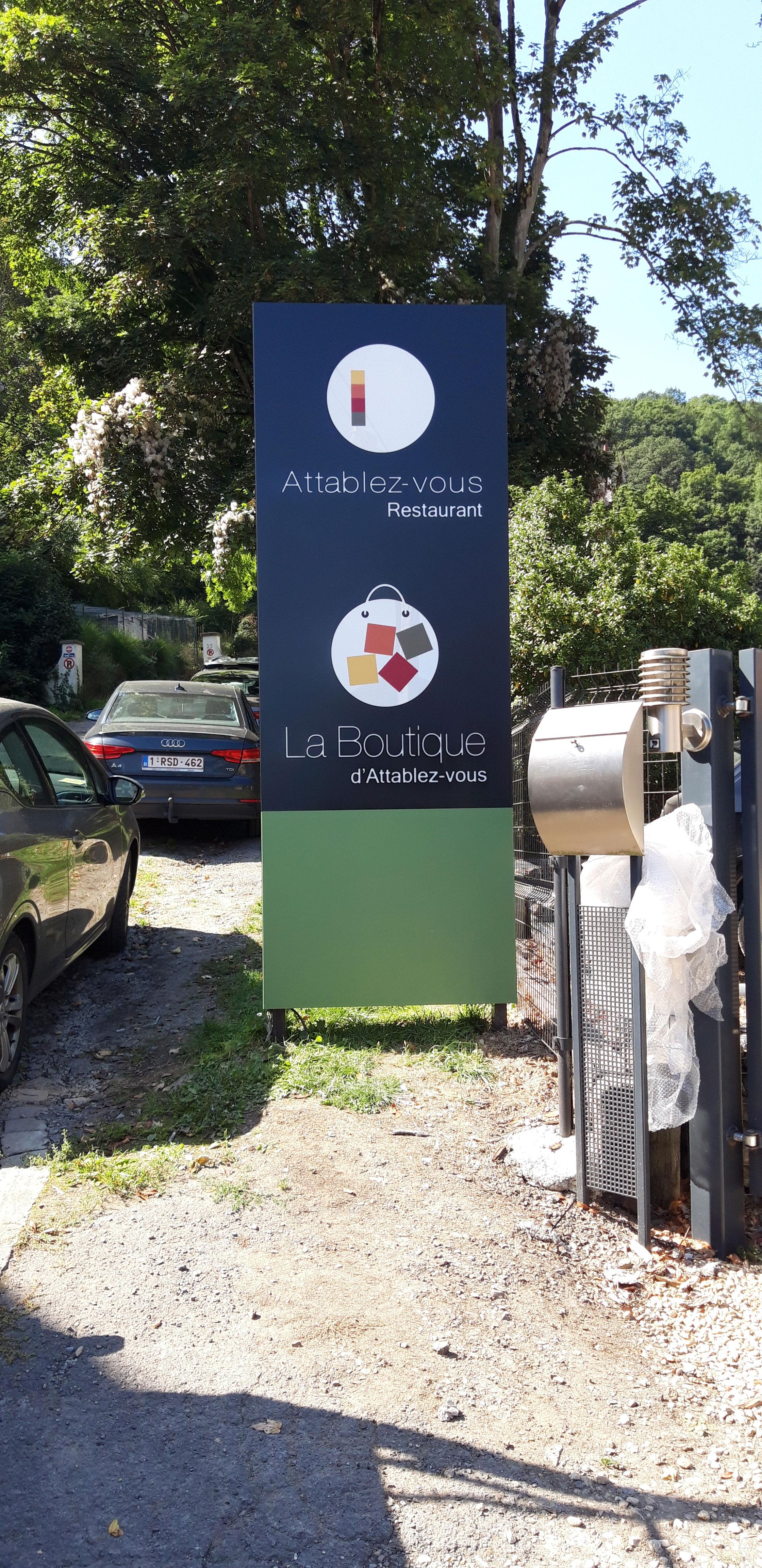 Totem - Atablez-vous Namur