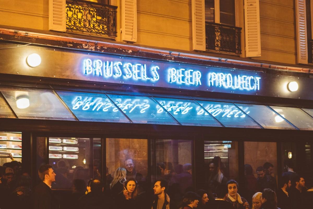 Néon et créations artistiques Brussels Beer Project Pigalle