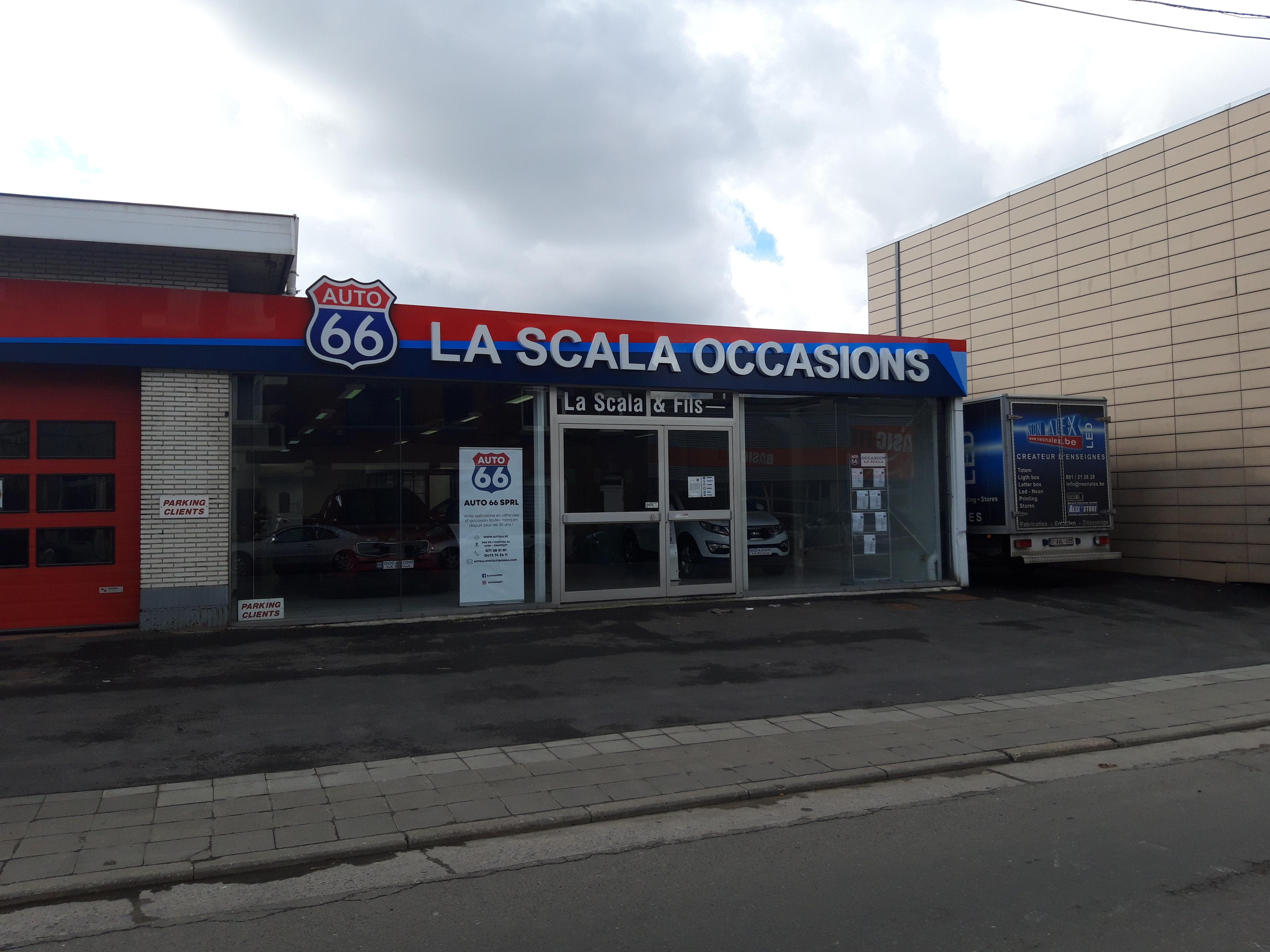 Habillage de façade - Carrosserie La Scala