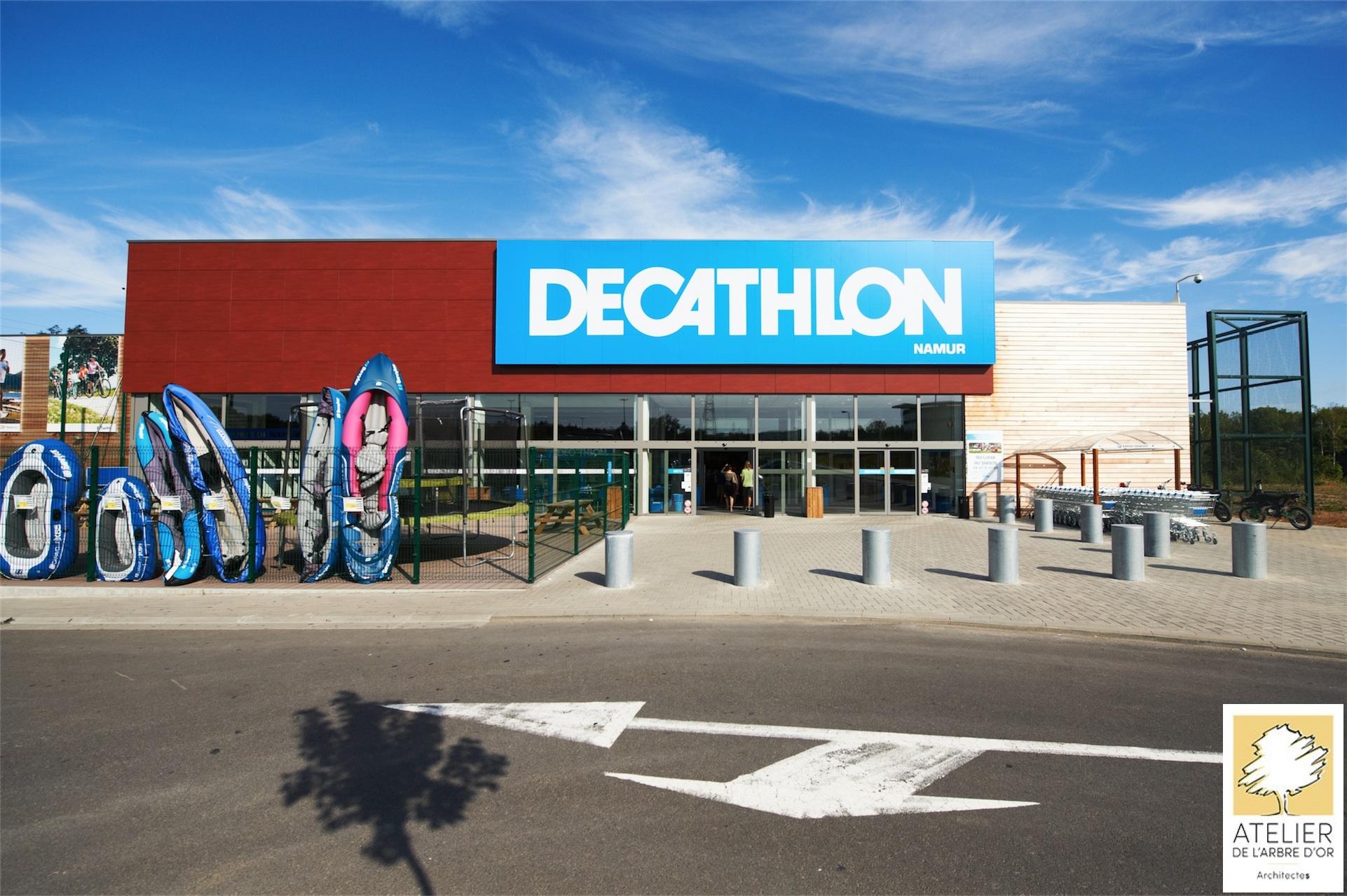 Caisson Lumineux Decathlon Namur