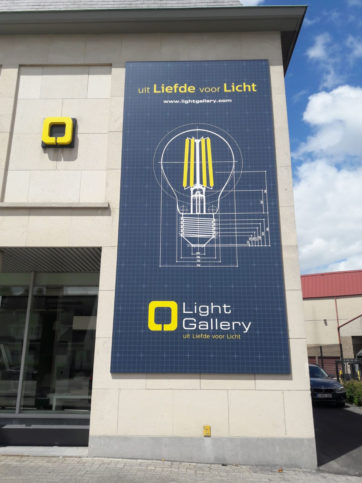 Bâche de façade - Light Gallery