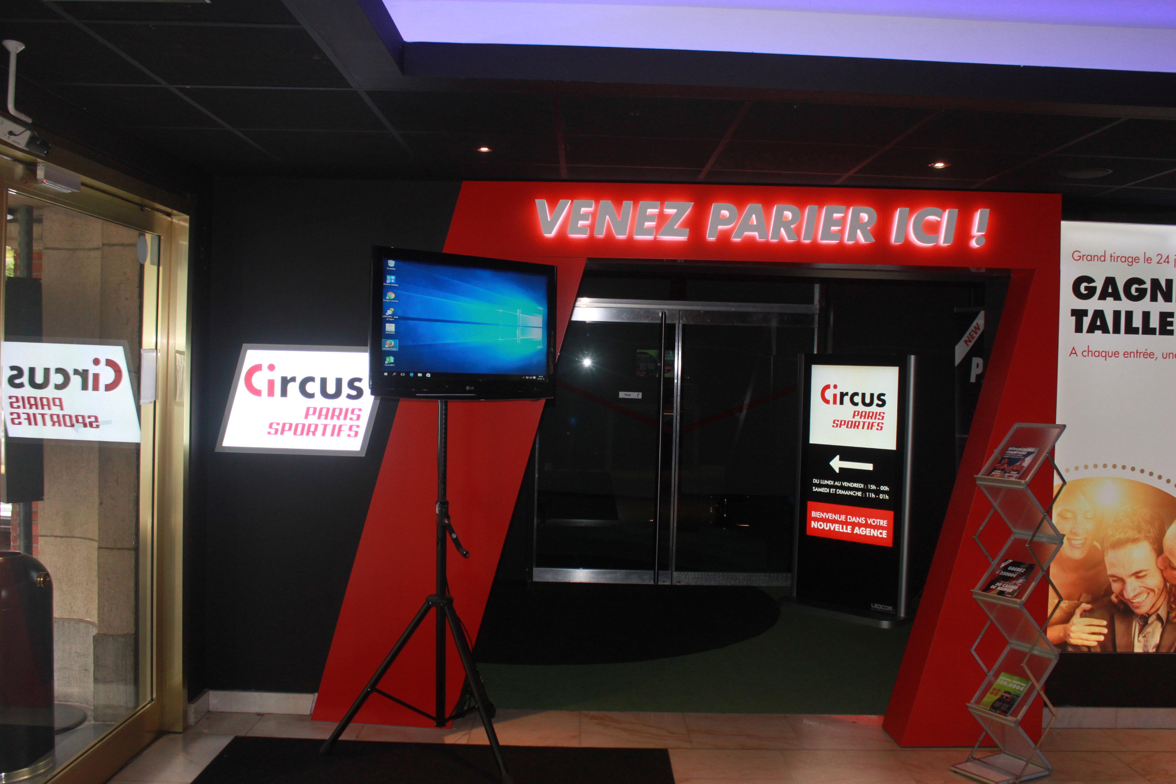 Circus Paris Sportifs