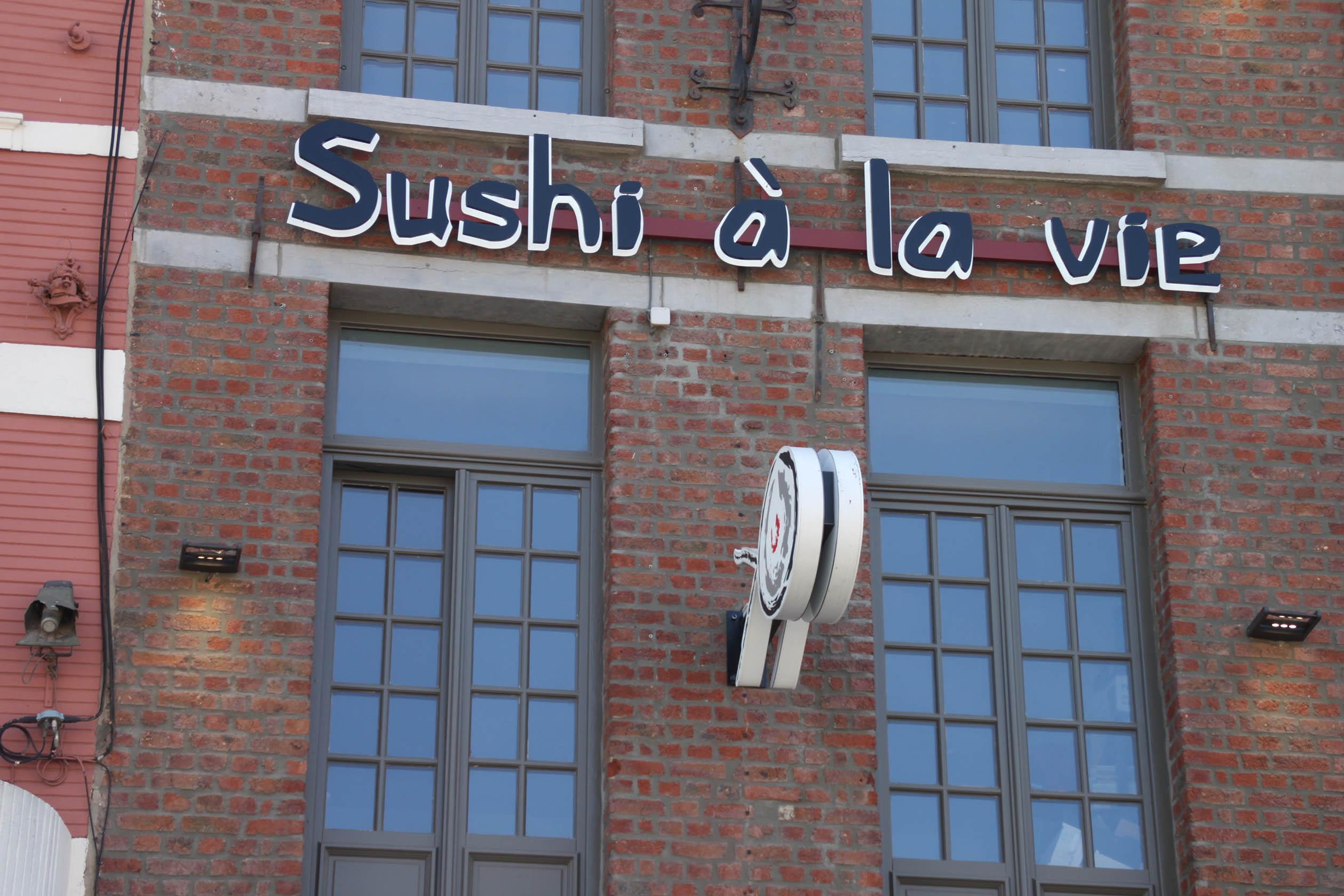 Sushi à la vie