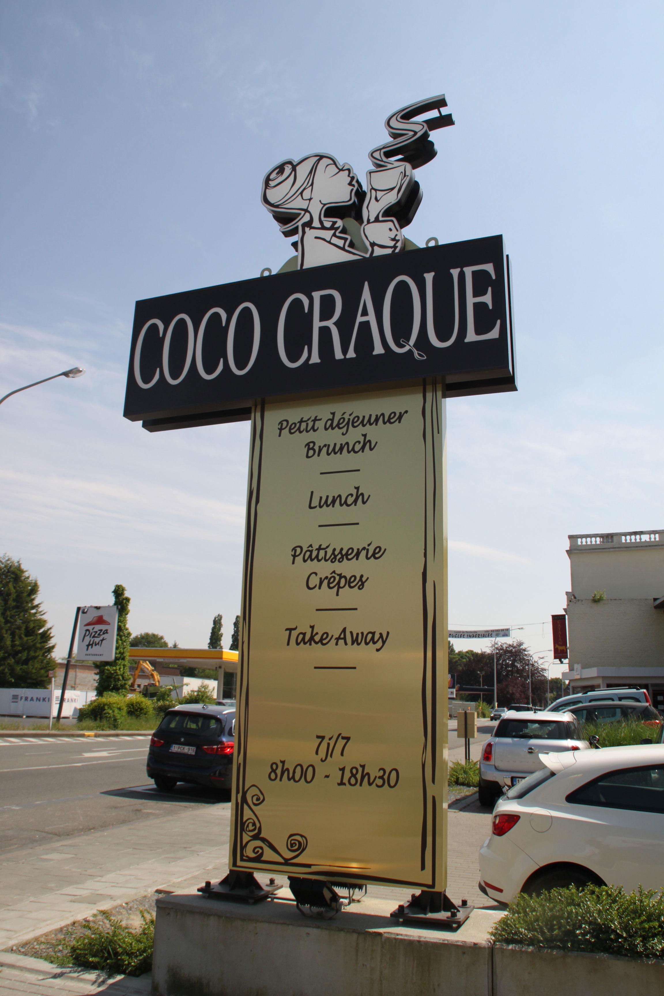 Totems extérieurs Coco Craque Waterloo