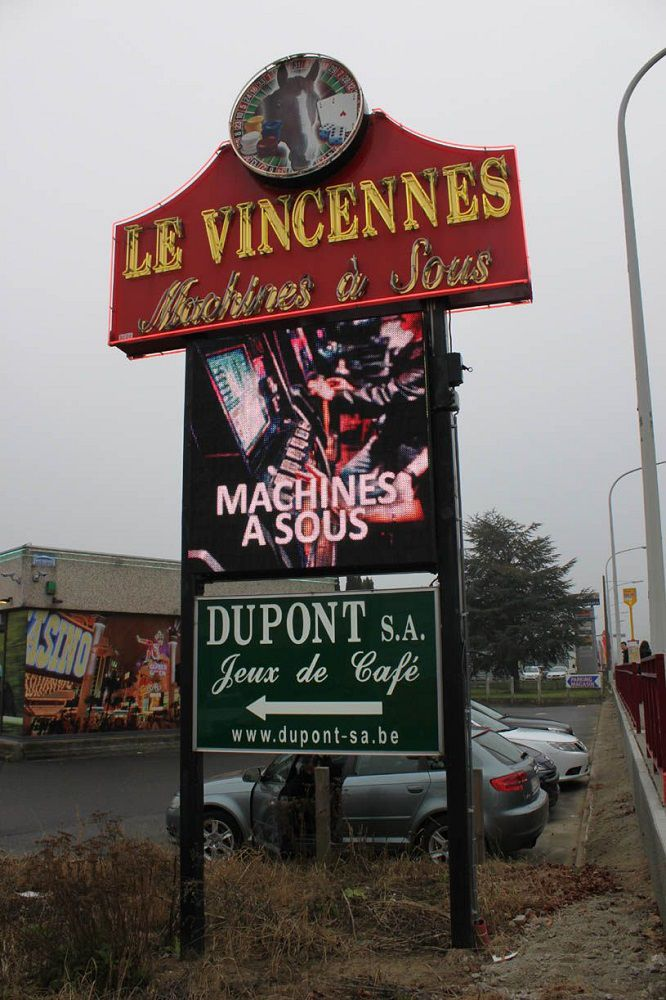 Le Vincennes machines à sous