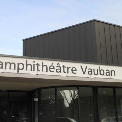 Panneau lumineux Amphitéâtre Vauban