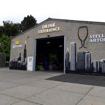 Habillage de façade - Drink experience