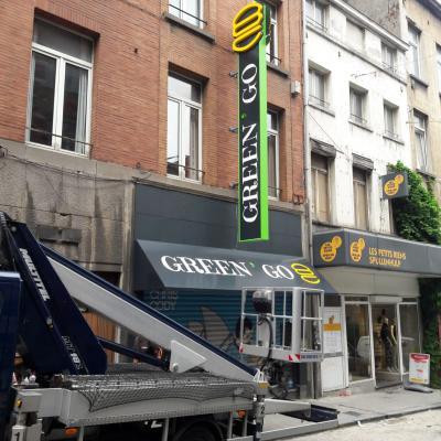 Néon et créations artistiques - Green Go Bruxelles