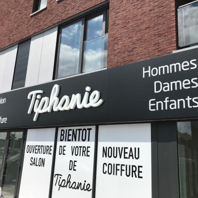 Habillage façade Tiphanie