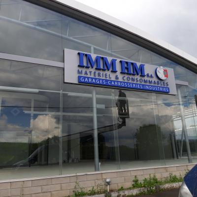 Lettres en relief - IMM HM