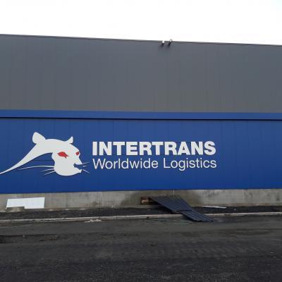 Habillage de façade - Intertrans