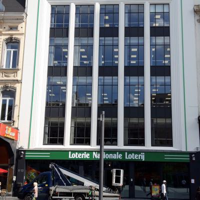Eclairage indirect - Loterie nationale Bruxlles