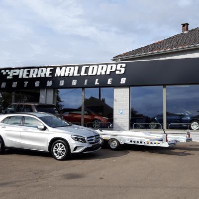 Habillage de façade - Pierre Malcorps Automobile