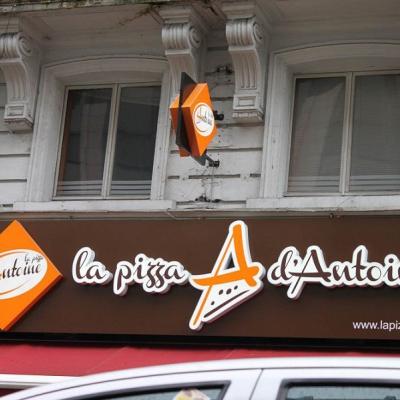 La pizza d'Antoine