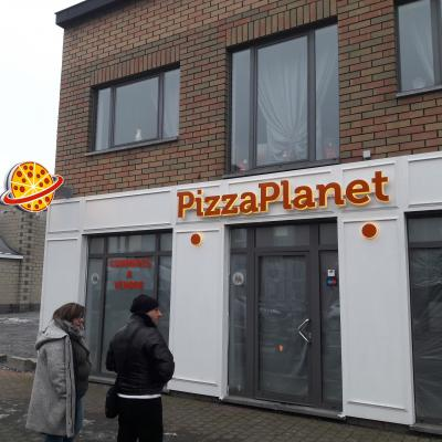 Eclairage indirect - Pizza Planet