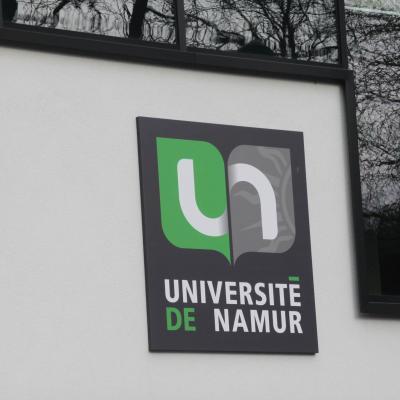 Panneau lumineux Université Namur
